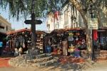 cross on olvera street
