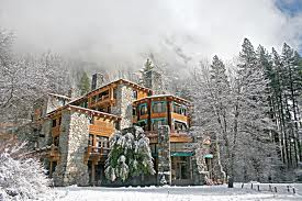 ahwahnee hotel in the winter