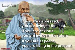 Being At Peace In The Present