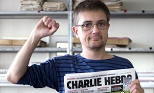 Stephane Charbonnier editorial director of Charlie Hebdo